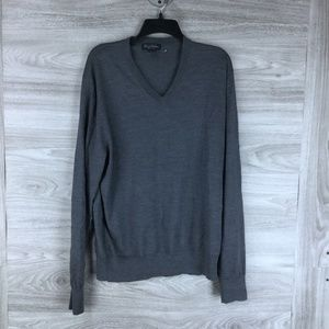 Brooks Brothers  Wool V Neck Sweater